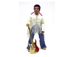 Jimi Hendrix Action Figura Woodstock Flocked 20 Cm Mego