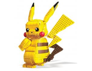 Pokémon Mega Construx Wonder Builders Construction Set Jumbo Pikachu 33 Cm Mattel