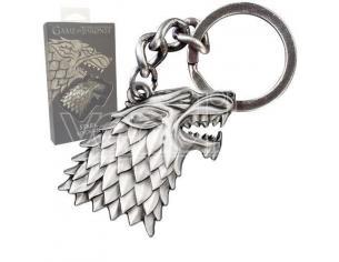 Game Of Thrones Metal Portachiavi Stark Sigil Noble Collection