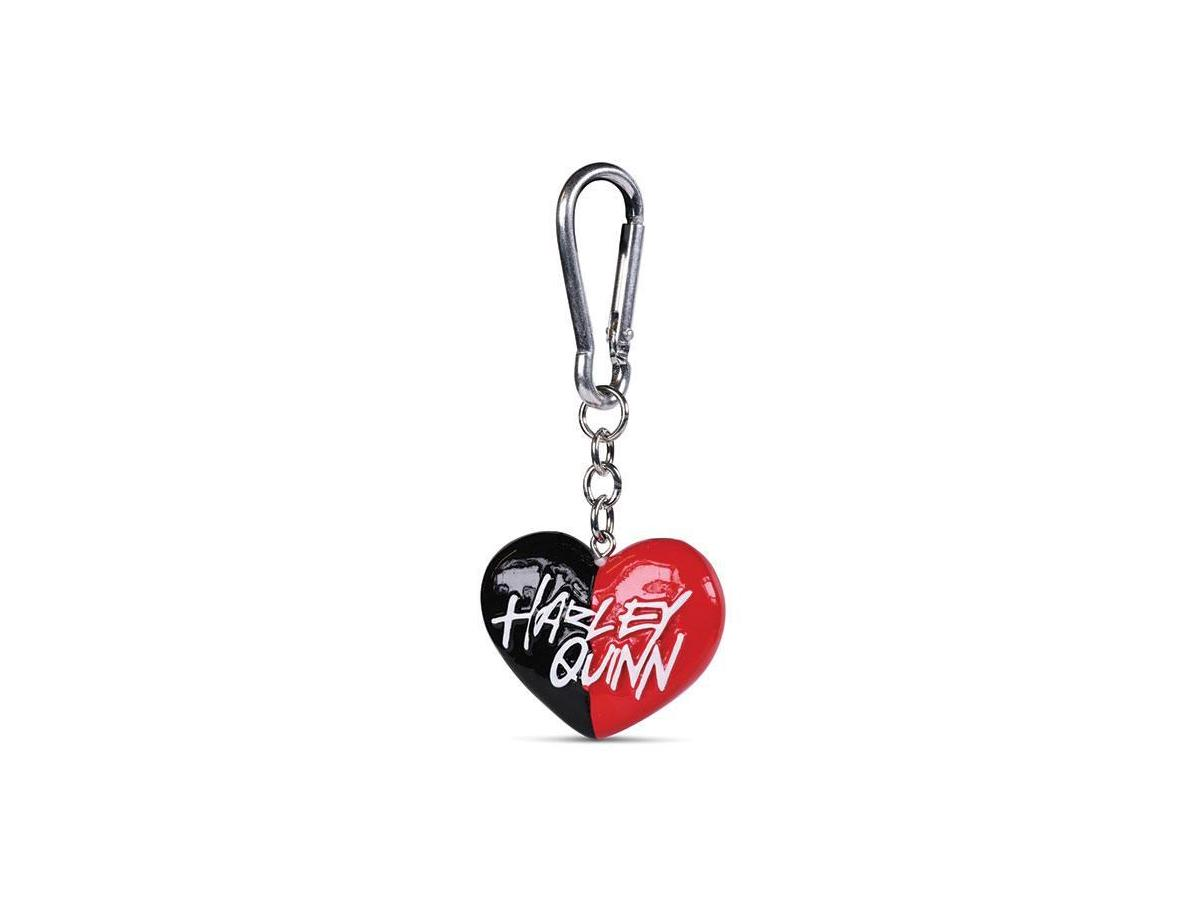 Dc Comics 3d-portachiavis Harley Quinn Heart 4 Cm Case (10) Pyramid International