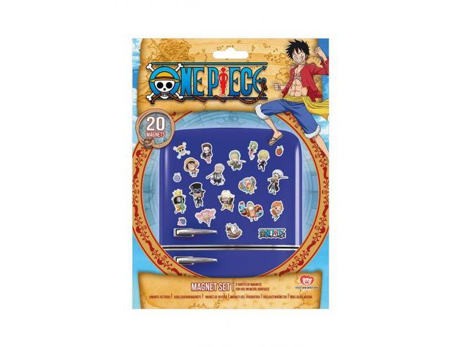 One Piece Fridge Magneti Chibi Pyramid International
