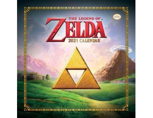 The Legend Of Zelda Calendar 2021 Pyramid International