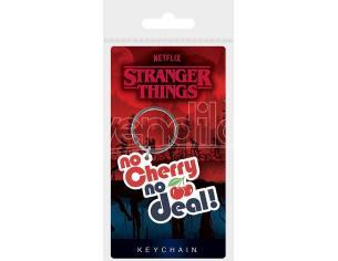 Stranger Things Rubber Portachiavis No Cherry No Deal 6 Cm Case (10) Pyramid International