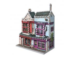 Harry Potter 3D Puzzle DAC Quality Quidditch Supplies & Slug & Jiggers Apothecary Wrebbit Puzzle
