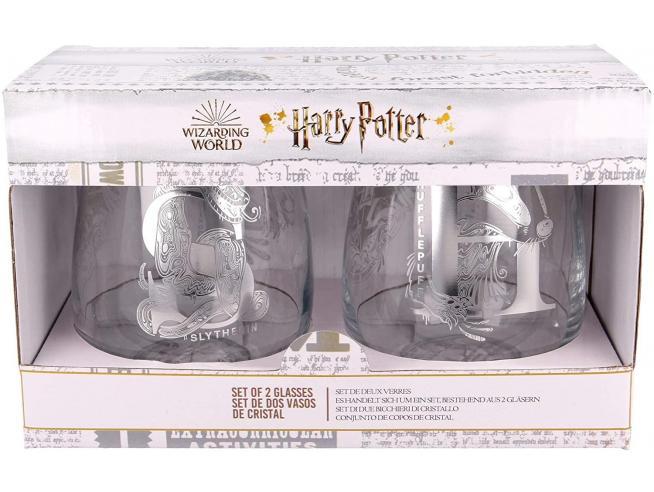 Harry Potter Set 2 Bicchieri di Vetro 510 ml Stor