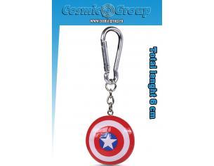 Captain America Shield Resin 3d Portachiavi Portachiavi Pyramid International