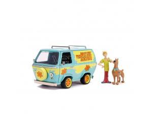 Scooby Doo Hollywood Rides Diecast Model 1/24 Mystery Van Con Figures Jada Toys