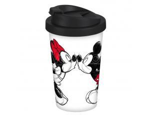 Disney Tazza Da Viaggio Mickey Kiss Sketch Geda Labels