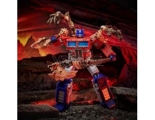 Transformers Generations War For Cybertron: Kingdom Action Figur Leader Class Optimus Prime 18 Cm Hasbro