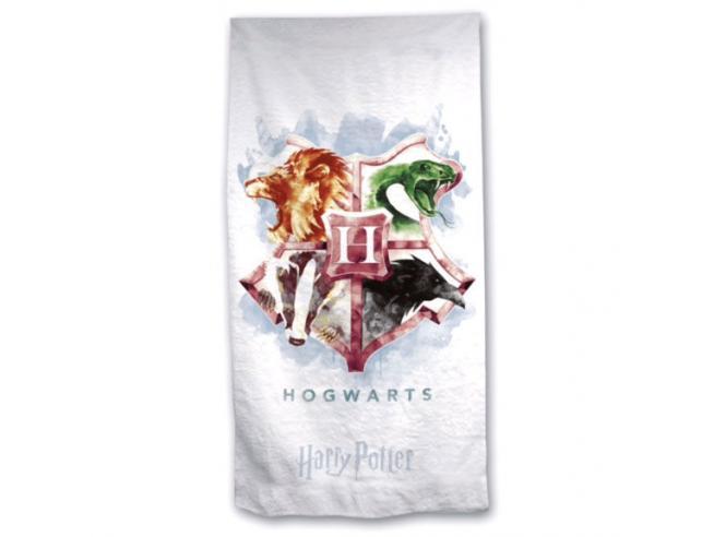 Harry Potter Telo Mare Asciugamano  Hogwarts in Microfibra Warner Bros