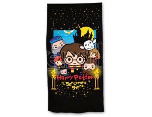 Harry Potter Telo Mare Asciugamano  Chibi in Microfibra Warner Bros