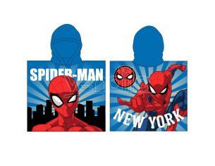 Marvel Spiderman Poncho Telo Mare Asciugamano Marvel