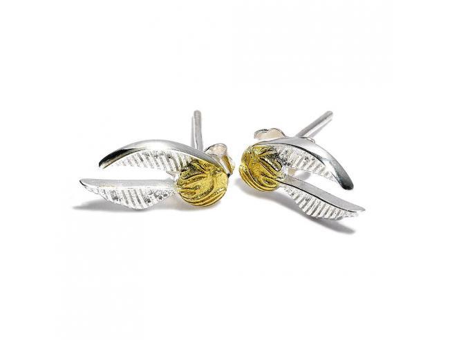 Harry Potter Orecchini Boccino D'oro (silver Plated) Carat Shop, The