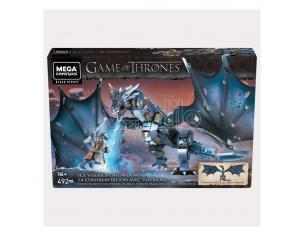 Game Of Thrones Mega Construx Black Series Construction Set Ice Viserion Showdown Mattel