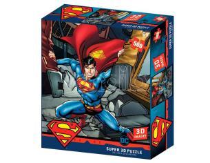 Dc Comics Superman Prime 3d Puzzle 500 Pezzi Prime 3d
