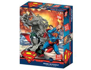 Dc Comics Superman Vs Doomsday Prime 3d Puzzle 300 Pezzi Prime 3d