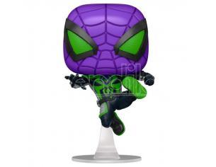 Pop Figura Marvel Spiderman Miles Morales Purple Reign Suit Metallic Funko