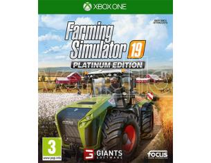 FARMING SIMULATOR 19 PLATINUM EDITION SIMULAZIONE - XBOX ONE
