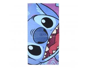 Disney Cartoni Animati Telo Mare Asciugamano  In Cotone Stitch 70x140 Cm Cerdà