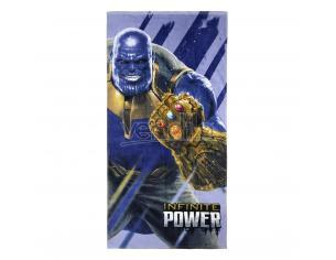 Avengers Telo Mare Asciugamano  Infinite Power Cotone 70X140 CM Cerdà