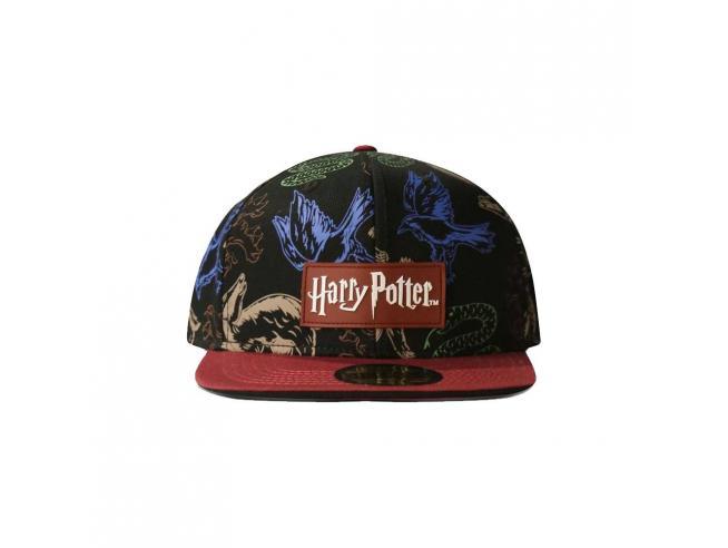 Harry Potter Cappellino Snapback Animali Araldici Difuzed