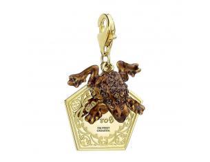 Harry Potter X Swarovski Ciondolo Chocolate Frog (gold Plated) Carat Shop, The