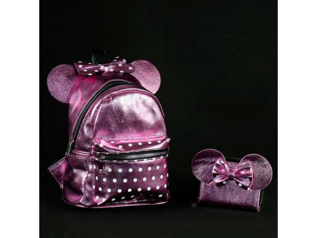 Disney Minnie Portafoglio Viola Cerdà