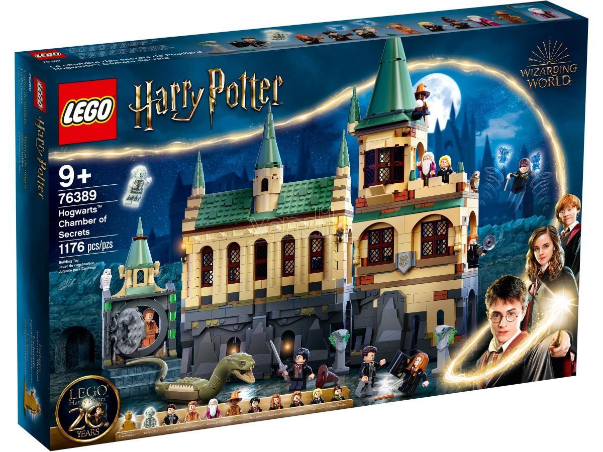 LEGO HARRY POTTER 76389 - LA CAMERA DEI SEGRETI DI HOGWARTS
