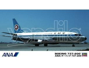 HASEGAWA 10675 BOEING 737-200 ANA 1:200 KIT Modellino