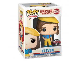 Stranger Things Funko Pop Tv Vinile Figura Eleven con Vestito Giallo 9 Cm