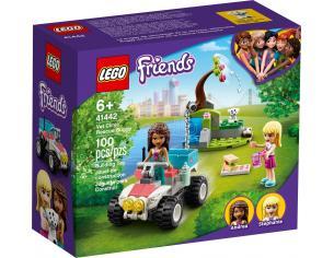LEGO FRIENDS 41442 - IL BUGGY DI SOCCORSO DELLA CLINICA VETERINARIA