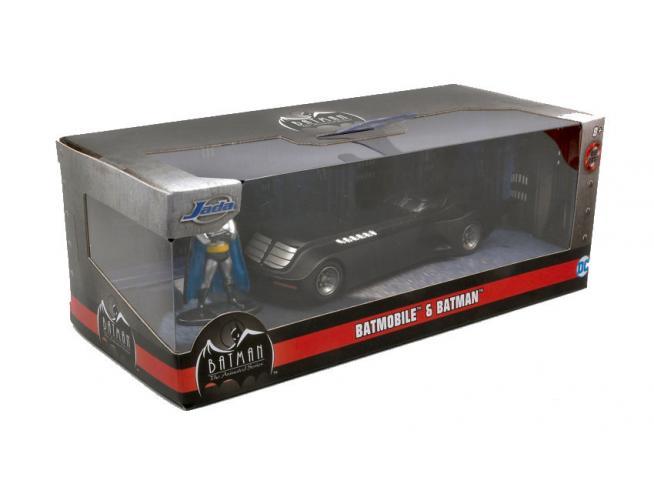 Jada Toys Jada31705 Batmobile W/batman Figura 1:32 Modellino