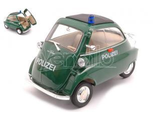 WELLY WE24096GP BMW ISETTA 250 POLICE 1:18 Modellino