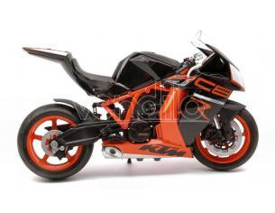 WELLY WE62806R KTM 1190 RC8R BLACK/ORANGE 1:10 Modellino