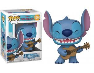Lilo & Stitch Disney Funko POP Animazione Vinile Figura Stitch con Ukulele 9 cm