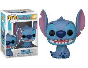Lilo & Stitch Disney Funko POP Animazione Vinile Figura Stitch Sorridente Seduto 9 cm