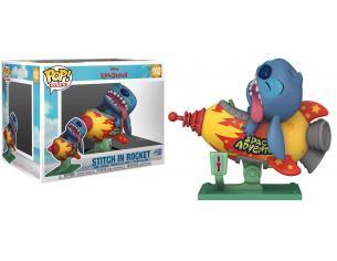 Lilo & Stitch Disney Funko POP Animazione Vinile Figura Stitch con Razzo 9 cm
