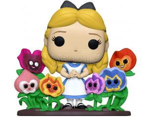 Disney Alice nel Paese delle Meraviglie 70° Anniversario Funko POP Vinile Figura Alice con Fiori 9 cm