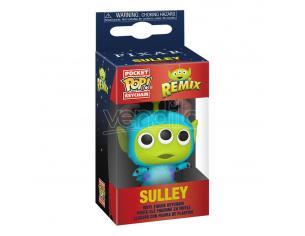 Pixar Pocket Pop! Vinile Portachiavis 4 Cm Alien As Sully Display (12) Funko