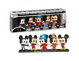 Pop Pack 5 Figures Disney Archives Mickey Esclusiva Funko