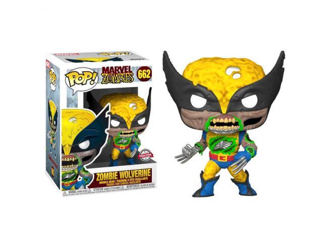 Zombies Funko POP Marvel Vinile Figura Zombie Wolverine 25 cm Esclusiva