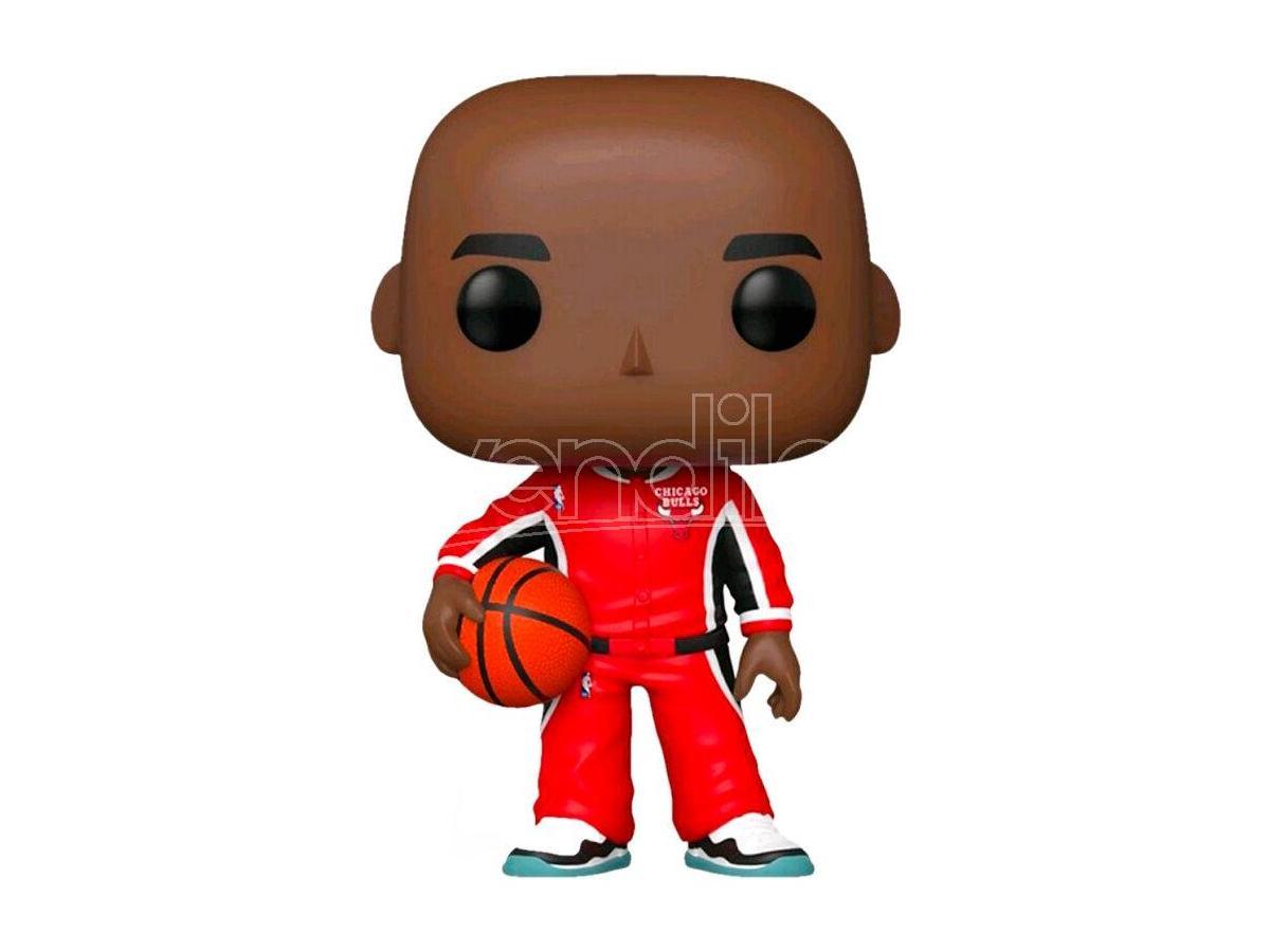 NBA Chicago Bulls Funko POP Vinile Figura Michael Jordan Tuta Rossa 9 cm Esclusiva