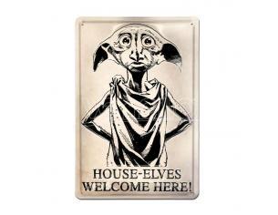 Harry Potter 3D Tin Sign Dobby 20 X 30 Cm Logoshirt