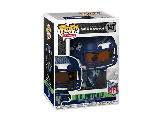 Nfl Funko Pop Vinile Figura D.k. Metcalf (seattle Seahawks) 9 Cm