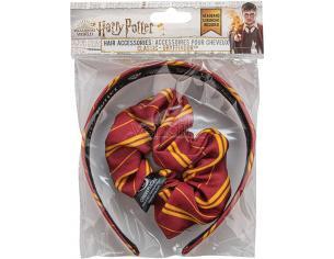 Harry Potter Set Grifondoro Cerchietto Per Capelli Cinereplicas
