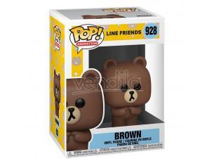 Line Friends Animazione Funko Pop Vinile Figura Brown 9 Cm