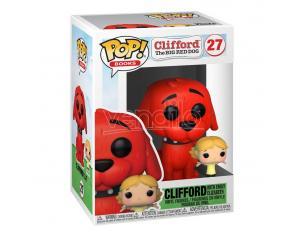 Clifford Il Grande Cane Rosso Funko Pop Vinile Figura Clifford Con Emily 9 Cm