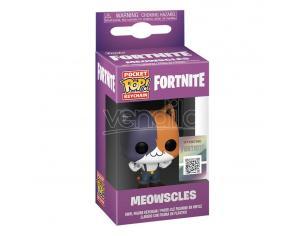 Fortnite Pocket Pop! Vinile Portachiavis 4 Cm Meowscles Display (12) Funko
