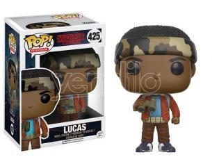 Stranger Things Funko Pop Vinile Figura Lucas 9 Cm