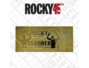 Rocky 3 Replica Biglietto Per Campionato Mondiale Box Dei Pesi Massimi (placcato in oro) Fanattik